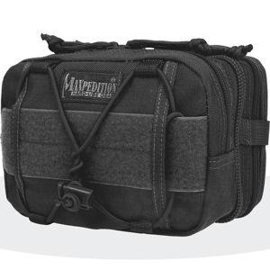 Skladací batoh MAXPEDITION® Merlin ™ - čierny (Farba: Čierna)