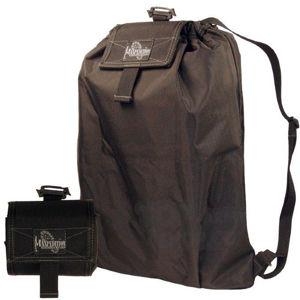 Skladací batoh MAXPEDITION® RollyPoly ™ - čierny (Farba: Čierna)