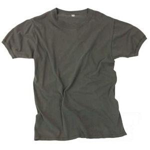 Spodné tričko s krátkym rukávom originál Bundeswehr použitej (Veľkosť: 80-90 hrudník/dĺžka 65)