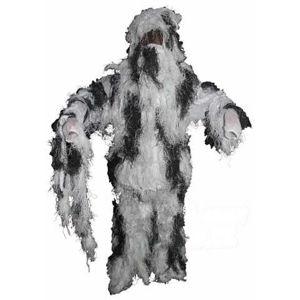 """Maskovacia súprava """"Hejkal"""" MFH® Ghillie Suit - snow camo-zima (Farba: Lovec biely)"""