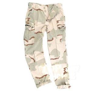 Nohavice US BDU Rip Stop Mil-Tec® - desert-3 farby, predprané (Farba: US desert 3 color, Veľkosť: M)
