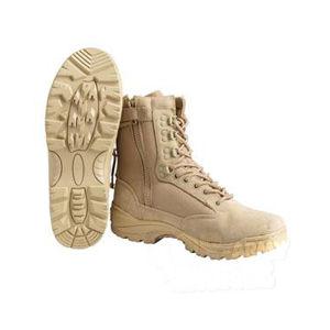 Taktické topánky so zipsom Mil-Tec® - khaki (Farba: Khaki, Veľkosť: 45)