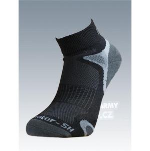 Ponožky so striebrom Batac Operator short - black (Veľkosť: 11-12)
