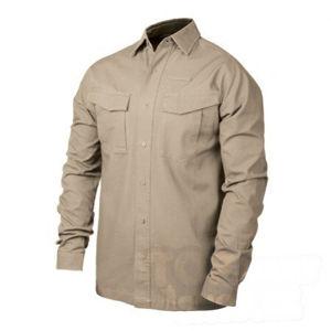 Taktická košeľa s dlhým rukávom Performance BlackHawk® - khaki (Veľkosť: MD)