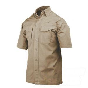 Taktická košeľa s krátkym rukávom Performance BlackHawk® - khaki (Veľkosť: MD)