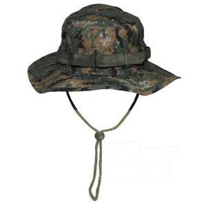 Klobúk Bush De Luxe Rip Stop FOSTEX® - woodland digital (Farba: MARPAT™ Digital woodland, Veľkosť: M)