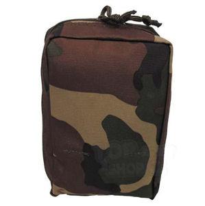 Viacúčelové vrecko MOLLE MFH® malé - woodland (Farba: US woodland)
