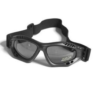 Okuliare COMMANDO Air Pre Mil-Tec®, smoke - čierne (Farba: Čierna)