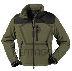 Taktická fleecová bunda PENTAGON® BOJAN Level IV - olivo-čierna (Veľkosť: XXL)