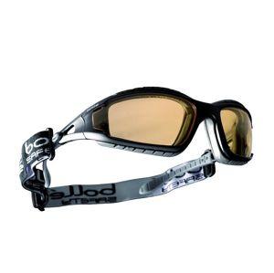 Okuliare ochranné BOLLÉ® TRACKER - žlté (Farba: Čierna, Šošovky: Žlté)