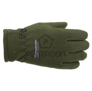 Fleecové rukavice Pentagon - zelené (Farba: Zelená, Veľkosť: XXL)