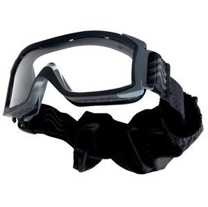 Taktické ochranné okuliare BOLLÉ® X1000 čierne - číre (Farba: Čierna, Šošovky: Číre)