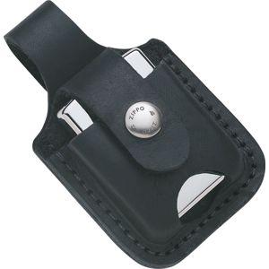 Kožené puzdro na zapaľovač Zippo LPT - čierne