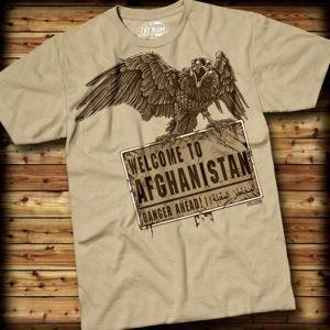 Pánske tričko WELCOME TO AFGHANISTAN 7.62 Design® (Veľkosť: M)