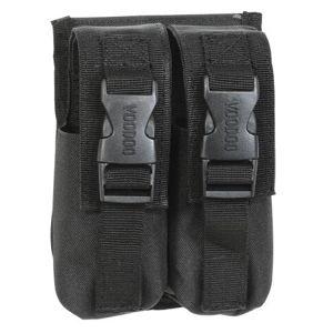 2 puzdro na dymové granáty M18 Voodoo Tactical - čierne (Farba: Čierna)