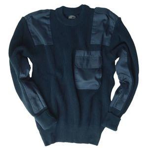 Vojenský sveter - pulóver BW Mil-Tec® - modrý (Farba: Modrá, Veľkosť: XXL)