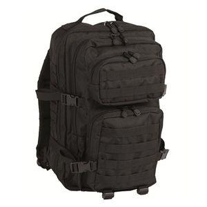 Batoh vojenský US ASSAULT PACK large Mil-Tec® - čierny (Farba: Čierna)