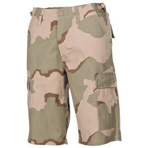 Krátke nohavice MFH® US BDU Rip Stop - desert (Farba: US desert 3 color, Veľkosť: S)