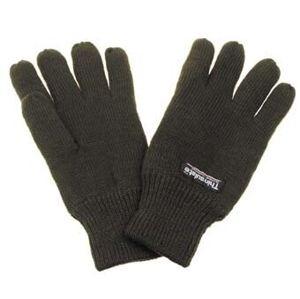 Pletené prstové zimné rukavice MFH® Thinsulate® - olív (Farba: Olive Green , Veľkosť: M)