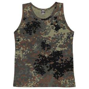 Bavlnené tielko klasického štýlu US army MFH® - flecktarn (Farba: Flectarn, Veľkosť: XL)