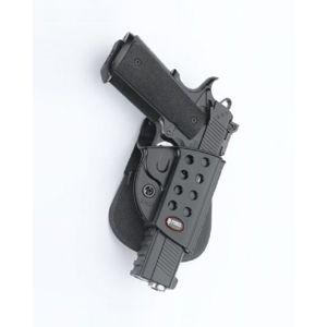 Pistolové pouzdro FOBUS® KMSP BH VARIO opaskové pro služební opasek na pistoli Colt, Kimber nebo Springfield