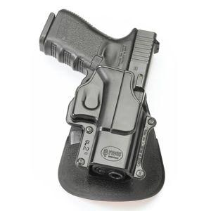 Pistolové pouzdro FOBUS® GL-2 EX BHP stehenní s opaskovým průvlekem na pistoli Glock