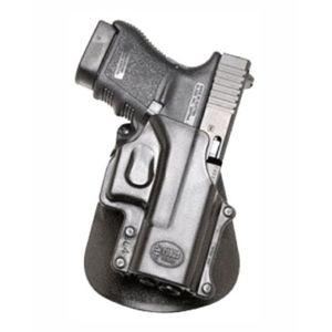 Pistolové pouzdro FOBUS® GL-4 EX stehenní s pádlem na pistoli Glock a Smith & Wesson