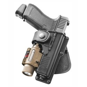 Pistolové pouzdro FOBUS® RBT19G BH opaskové pro služební opasek na pistoli Glock