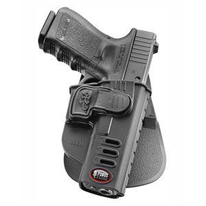 Pistolové pouzdro FOBUS® GLCH LH s pádlem na pistoli Glock - pro leváky