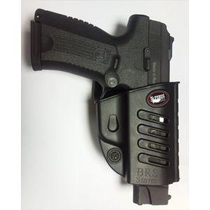 Pistolové pouzdro FOBUS® BRS LH EX stehenní s pádlem na pistoli Baikal, Beretta, FN nebo Taurus - pro leváky