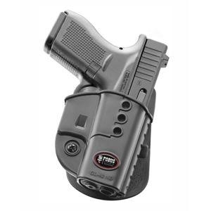 Pistolové pouzdro FOBUS® GL-42 ND A kotníkové s pádlem na pistoli Glock