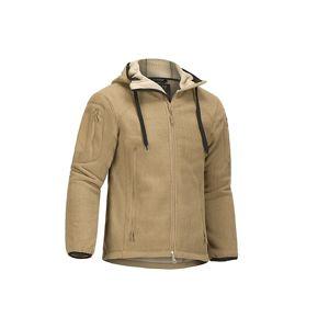 Fleecová bunda CLAWGEAR® Milvago Hoody - coyote (Farba: Coyote, Veľkosť: XXL)