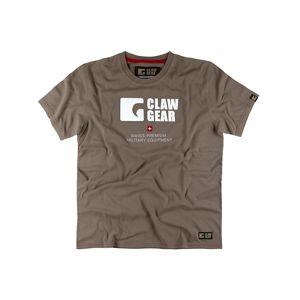 Bavlnené tričko CLAWGEAR® TEE - hnedá-dark earth (Farba: Dark Earth, Veľkosť: XXL)