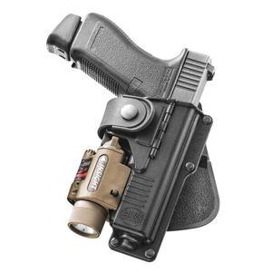 Pistolové pouzdro FOBUS® RBT19 LS EX BH stehenní s opaskovým průvlekem na pistoli H&K nebo HS 2000