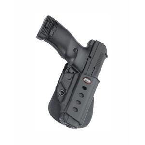 Pistolové pouzdro FOBUS® HPP EX stehenní s pádlem na pistoli Hi-Point nebo Ruger