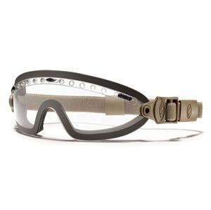 Taktické ochranné brýle Boogie Sport SMITH OPTICS® - čiré čočky, coyote pásek (Farba: Coyote, Šošovky: Číre)