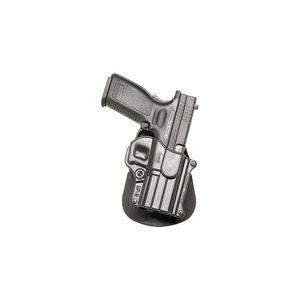 Pistolové pouzdro FOBUS® SP-11 BHP RT opaskové Roto-Holster™ pro služební opasek na pistoli Bul, HS 2000, IWI Israel, Ruger, Springfield nebo Taurus