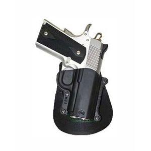 Pistolové pouzdro FOBUS® KM-3 EX BHP stehenní s opaskovým průvlekem na pistoli Kimber