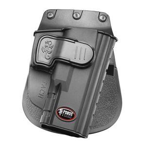 Pistolové pouzdro FOBUS® TACH LH EX BHP stehenní s opaskovým průvlekem na pistoli Taurus - pro leváky