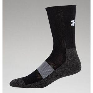 Ponožky UNDER ARMOUR® Performance Crew HeatGear® - čierne (Veľkosť: M)
