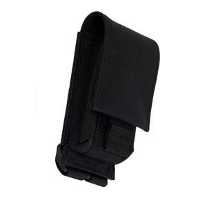 Puzdro na mobil SAGEAR® GSM a SMARTPHONE - čierne (Farba: Čierna)