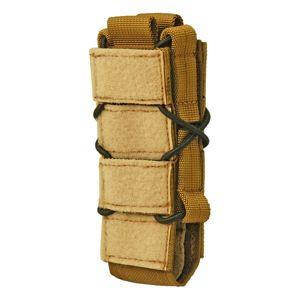 Puzdro na zásobník KDS SMG SAGEAR® so suchým zipsom na klopu - coyote (Farba: Coyote)