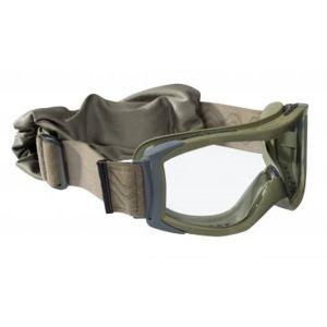 Taktické ochranné okuliare BOLLÉ® X1000 - zelené, číre (Farba: Zelená, Šošovky: Číre)