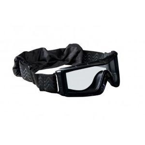 Taktické ochranné okuliare BOLLÉ® X 810 - čierne, číre (Farba: Čierna)
