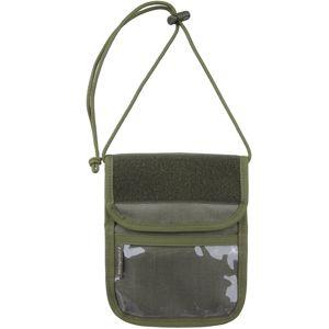 Púzdro na doklady - peňaženka na krk Wisport® Patrol - RAL7013 (Farba: RAL7013)