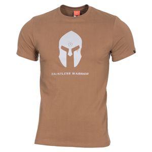 Pánske tričko Pentagon® Spartan Helmet - coyote (Farba: Coyote, Veľkosť: S)