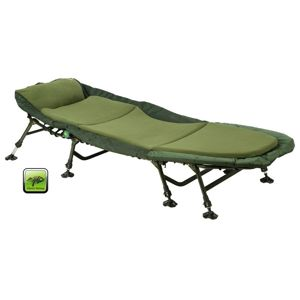 Lôžko GIANTS FISHING® Bedchair Fleece 8Leg MKII