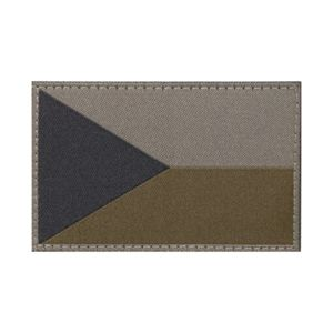 Nášivka CLAWGEAR® - Česká republika - RAL7013 (Farba: RAL7013)