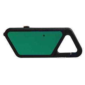 USB LED svítilna ASP® Sapphire - polymerový rám, zelená (Farba: Zelená)