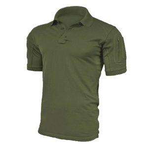 Tričko Texar® Polo Elite Pro  - oliv (Farba: Olive Green , Veľkosť: 3XL)